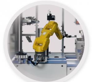 Cánh tay robot dùng cho máy phân tích quang phổ online