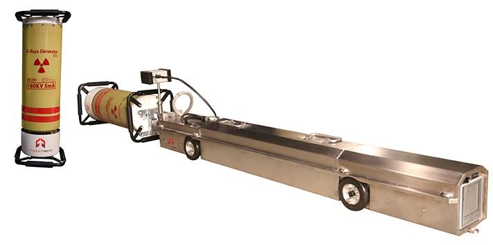 Hệ thống chụp X-Ray công nghiệp đường ống